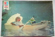 Milton bradley muppet movie puzzle boat