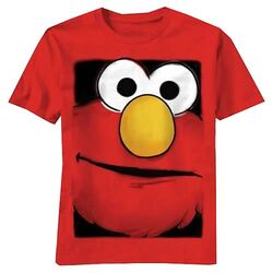 Mad engine 2011 t-shirt elmo big box face