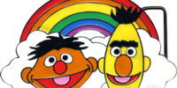 Sesame Street belt buckles (Bioworld)