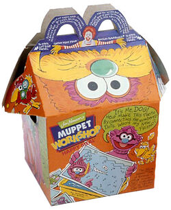 Muppet Workshop Happy Meal box