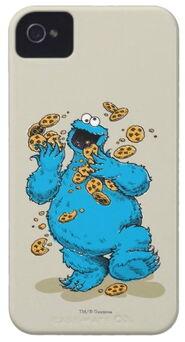 Zazzle cookie monster crazy cookies