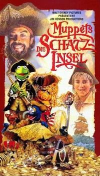 German-Muppets-Die-Schatz-Insel-VHS