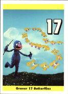 1992 sesame trading cards 18