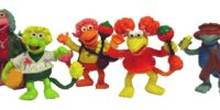 Fraggle Rock PVC figures (Comics Spain)