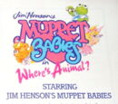 Muppet Babies: Where's Animal?