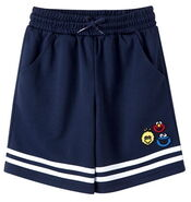 Pancoat navy short pants