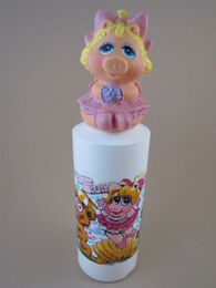 Avon 1985 muppet babies no-tear shampoo with finger puppet 1