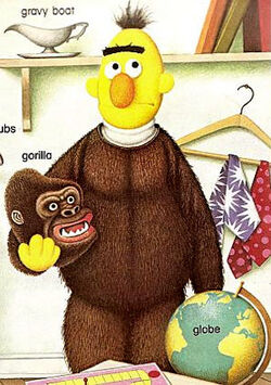 Bert-gorillasuit