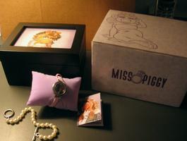 Fossil miss piggy watch set 2