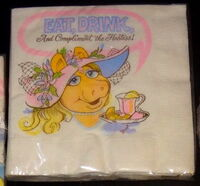 Hallmark 1981 piggy party supplies 1b