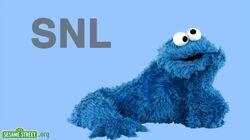 Cookie monster hosts snl