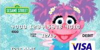 Sesame Street debit cards