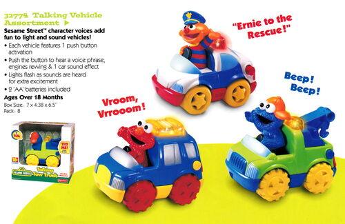 Tyco 1998 talking vehicle set