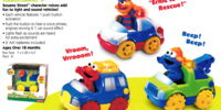 Sesame Street Talking Vehicles