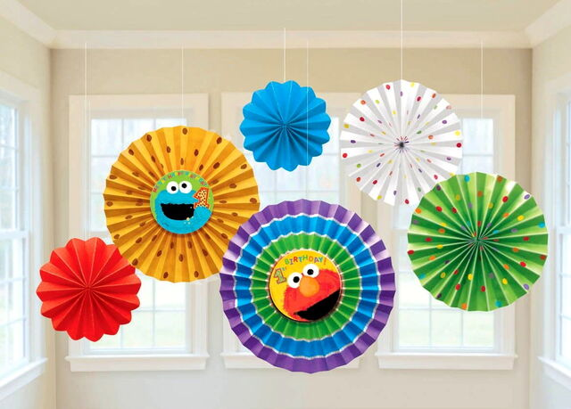 File:1st Birthday paper fan decoration.jpg