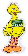 Sesame street live big bird banner