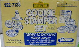 Cookie stamper box