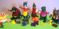 Dinosaurs action figures
