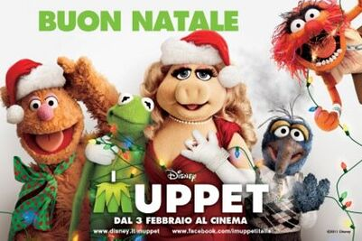 Holiday I Muppet poster