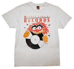 Junk food 2012 t-shirts muppet studios records