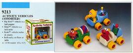 Illco 1992 baby toys activity vehicles