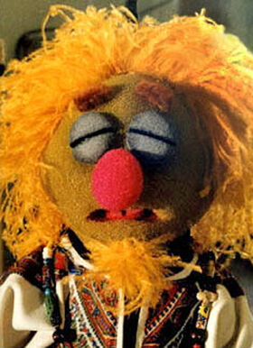 Big lipped girl muppet characters