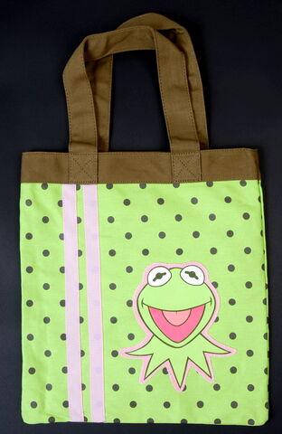File:Kermit polkadot tote bag.jpg