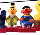 Sesame Street rubber stamps (Stampos)