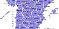 Previncias d'España