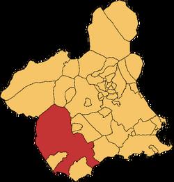 Lorca en a Rigión e Murcia