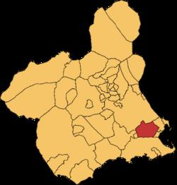 Torre-Pachecho en la Rigión e Murcia