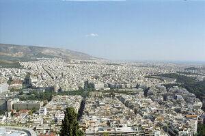 Vista su Atene dal Licabeto