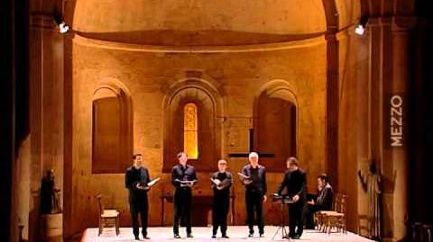 Machaut - Messe de Notre Dame (abbaye de Thoronet, Ens. G. Binchois, dir. D. Vellard)