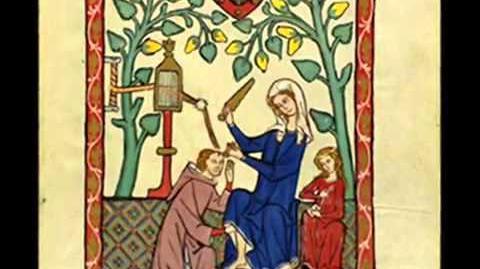 Magister Leoninus - Gloria in excelsis Deo - Codex Manesse