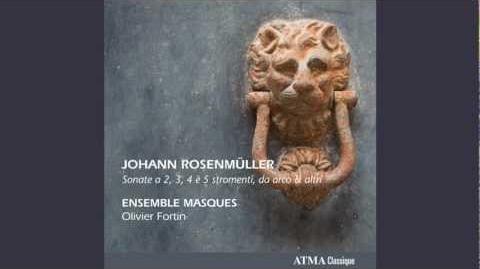 Johann Rosenmüller Sonata Decima à 5 in F Major
