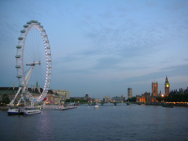 File:London Eye and Houses of Parliament.JPG