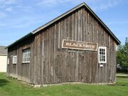 Cedar grove blacksmith