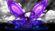 Kuroageha dark butterfly wings
