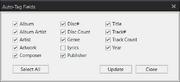 Auto-Tag settings