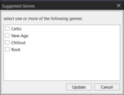 Suggested Genres