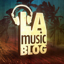 LA Music Blog Beach Logo