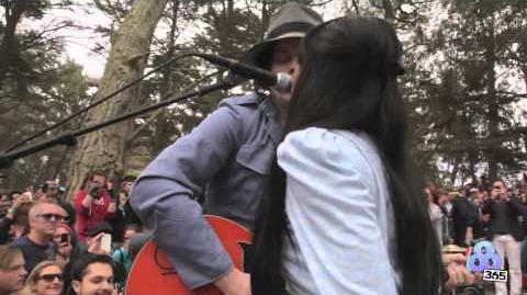 "Jack White Surprise Set - ""Love Interruption"" - Outside Lands 2012 (Official Video)"