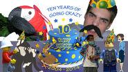 Ten Years Banner