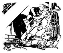 23-scifi-brawl-fist-fight-knock-out-tko-ground-laser-pistol