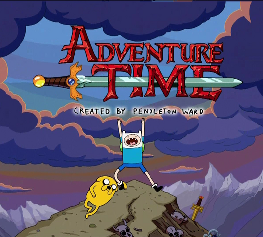 File:Adventure Time Title.png