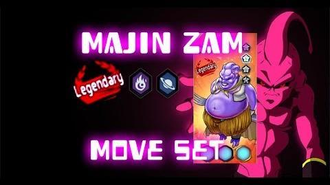 MGG - Majin Zam (Move Set)
