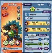 Draco Mage Gold Star
