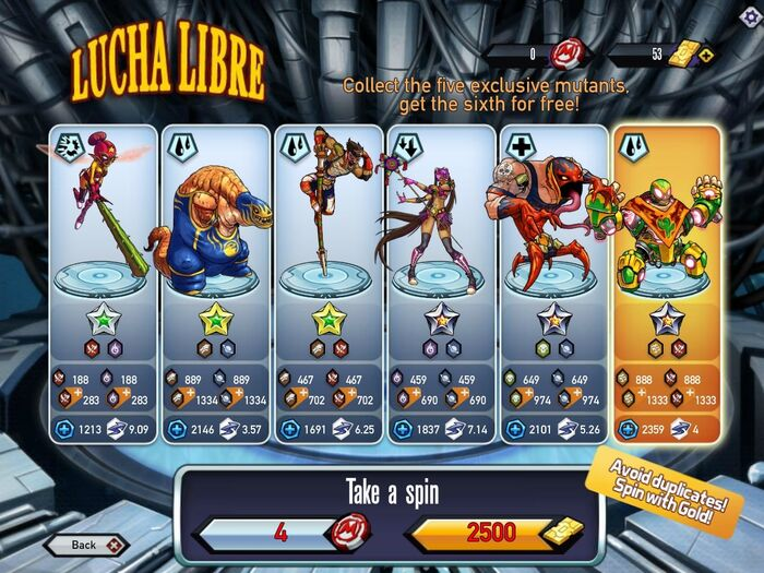 Lucha Libre Blank Browser
