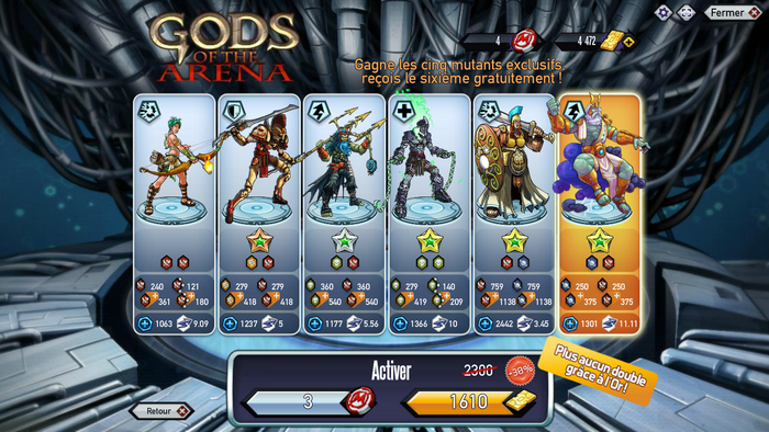 GODS OF THE ARENA