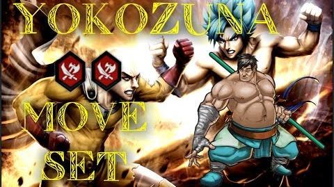 MGG - Yokozuna (Move Set)